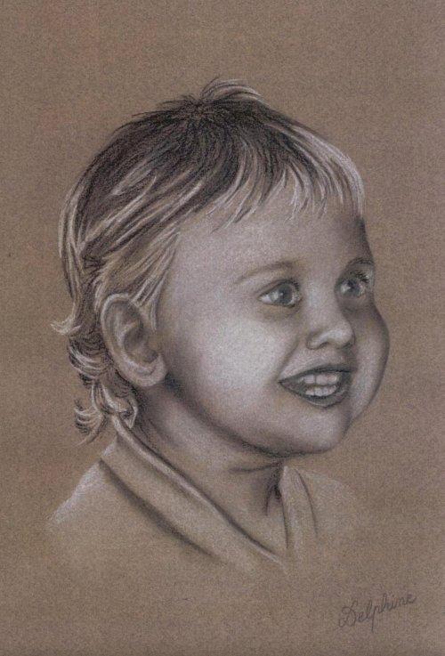 Portrait d Alan à 2 ans