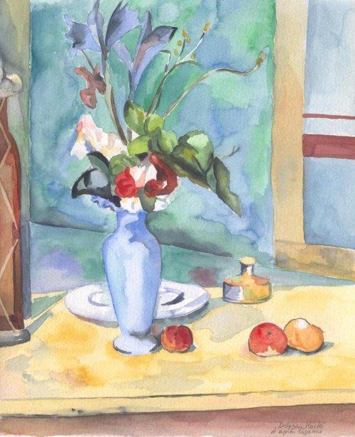 D`après Cezanne
