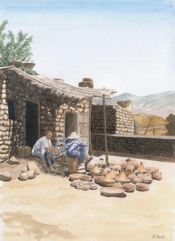 Marché au Maroc 1