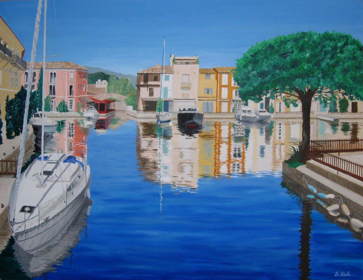 Peinture Port Grimaud
