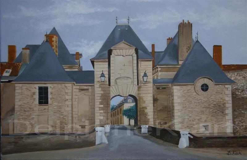 Porte de Chinon à Richelieu (37)