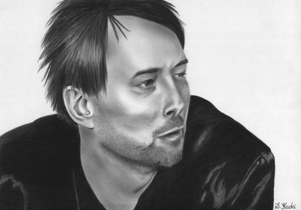 Portrait de Thom Yorke