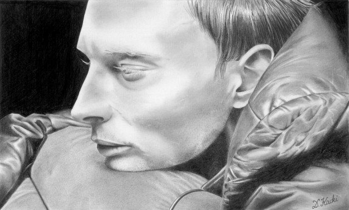 Thom Yorke dans le clip Karma Police
